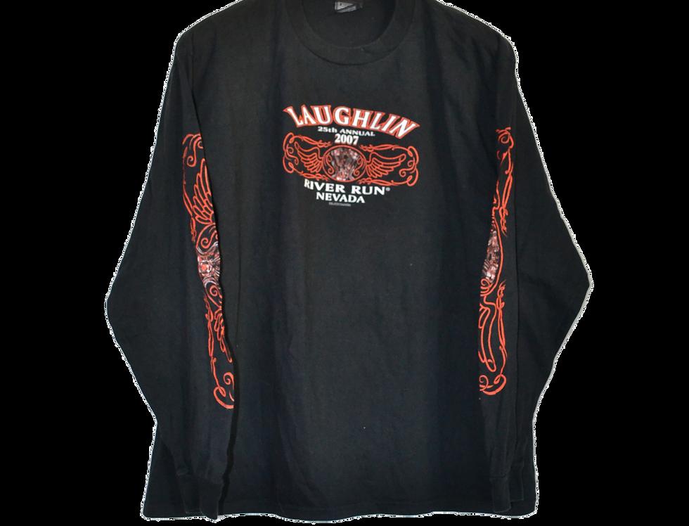 Laughlin 2007 River Run Motor Cycle Long Sleeve