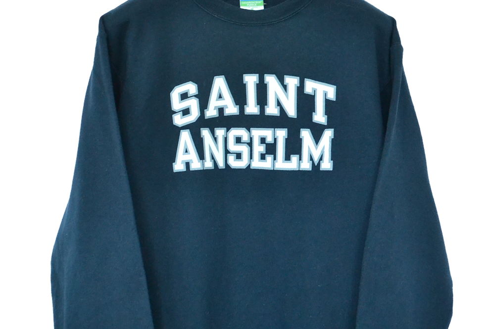 Saint Anselm, New Hampshire College Spellout Sweatshirt M