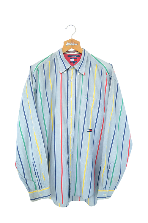 Tommy Hilfiger 90s Multicoloured Shirt XL