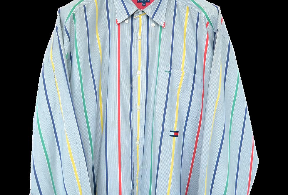 Tommy Hilfiger 90s Multicoloured Shirt XL