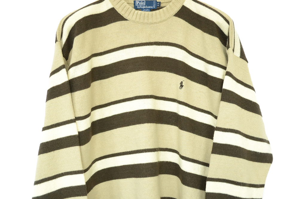 Ralph Lauren Mocha Knitted Sweater L