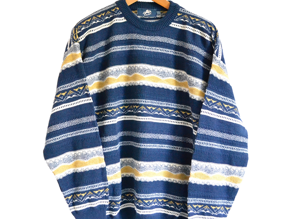 André P Italian Made Knitted Jumper XL