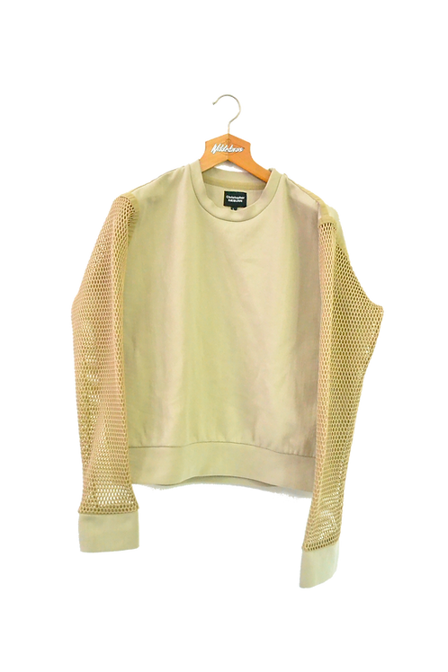 Christopher Raeburn Mesh Sleeved Sweatshirt L