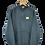 Thumbnail: Michigan Wolverines Staff Charcoal 1/4 Zip L