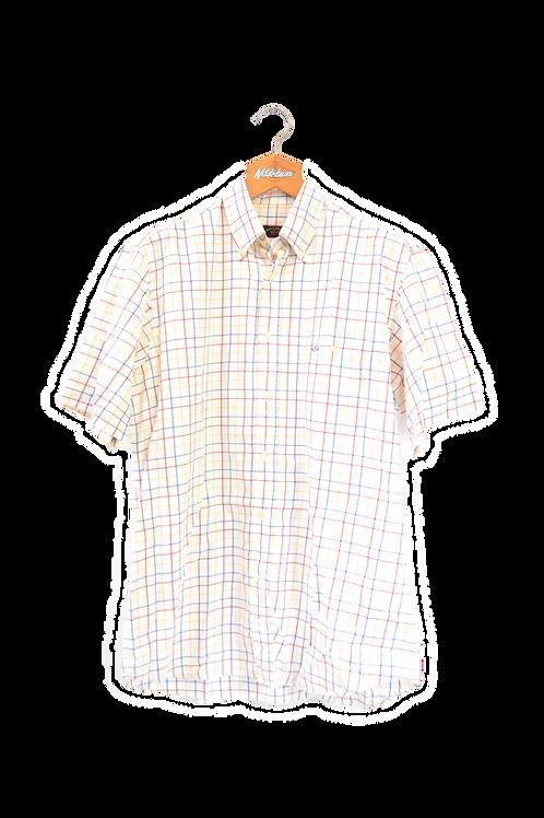 Paul & Shark Short Short Sleeved Stripes Shirt L
