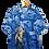 Thumbnail: Fucked up Samurai Blue Camouflage Graphic Shirt