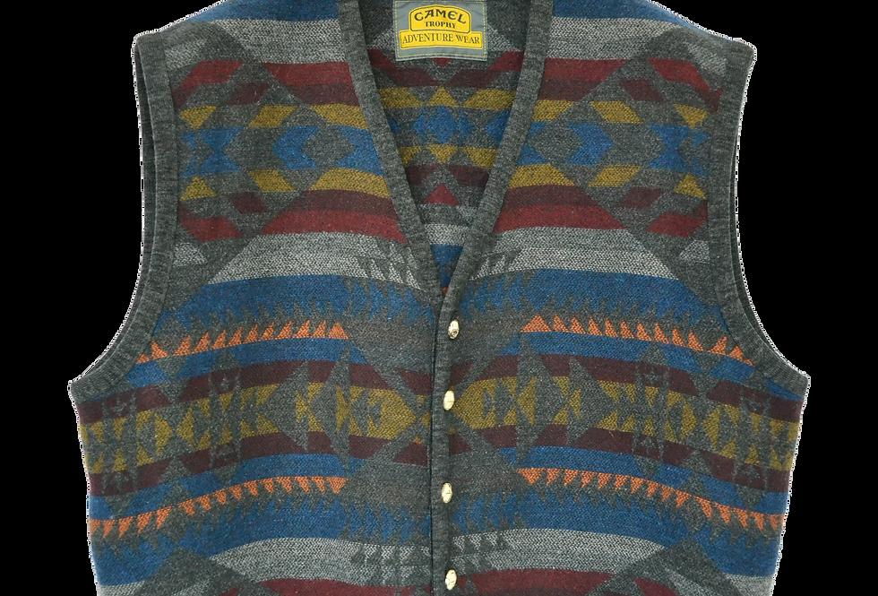 Camel Cigarettes Knitted Spencer Jacket XL