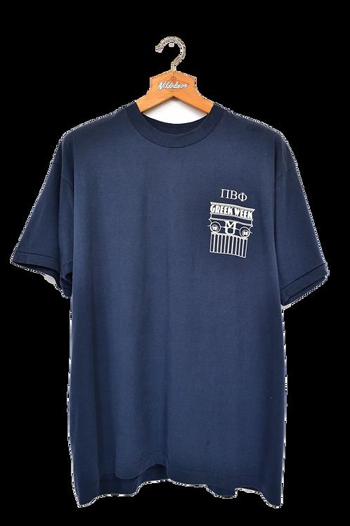 1996 Single stitch Marouette University T-shirt XL