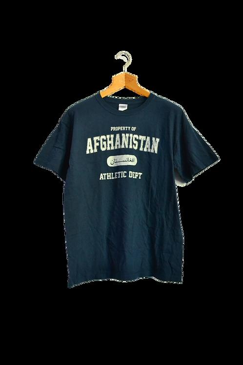 Afghanistan War Athletic Dept Tee L