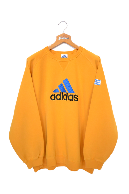 Adidas early 00's Spellout Sweatshirt XL