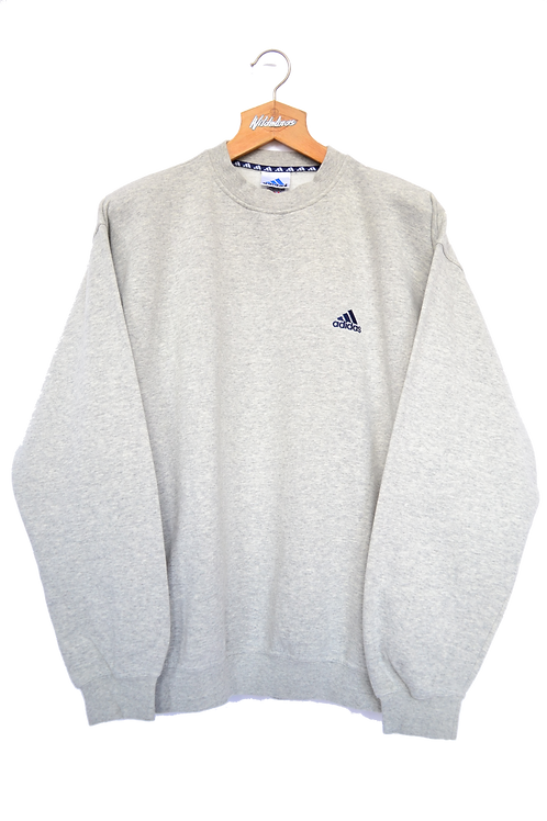 1992 Adidas Grey Crewneck XL