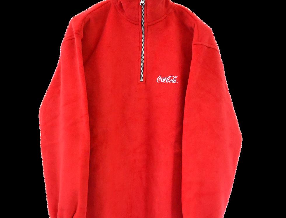 Coca Cola Promotional Fleece Original Red L