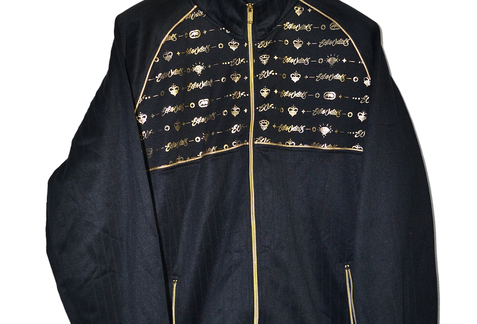 Ecko Black 'n Gold  Hood Jacket XXL