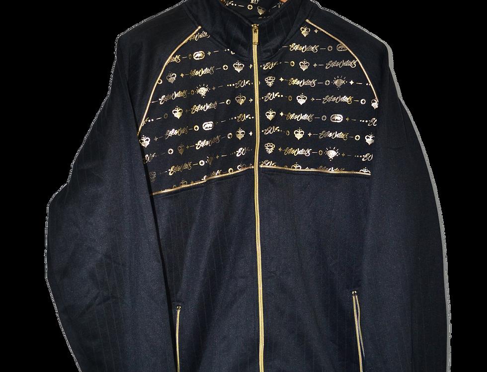 Ecko Black 'n Gold  Hood Jacket XXL
