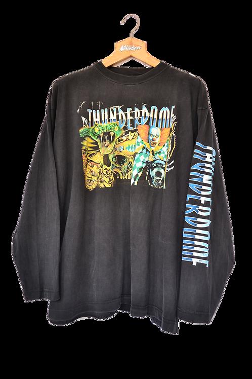 1995 Thunderdome Hardcore will Never Die Longsleeve XL
