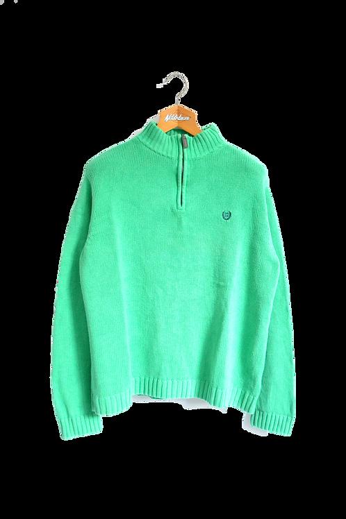Ralph Lauren Chaps Knitted Sweatshirt Apple Green L