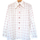 Thumbnail: 80s White Point Collar Shirt L