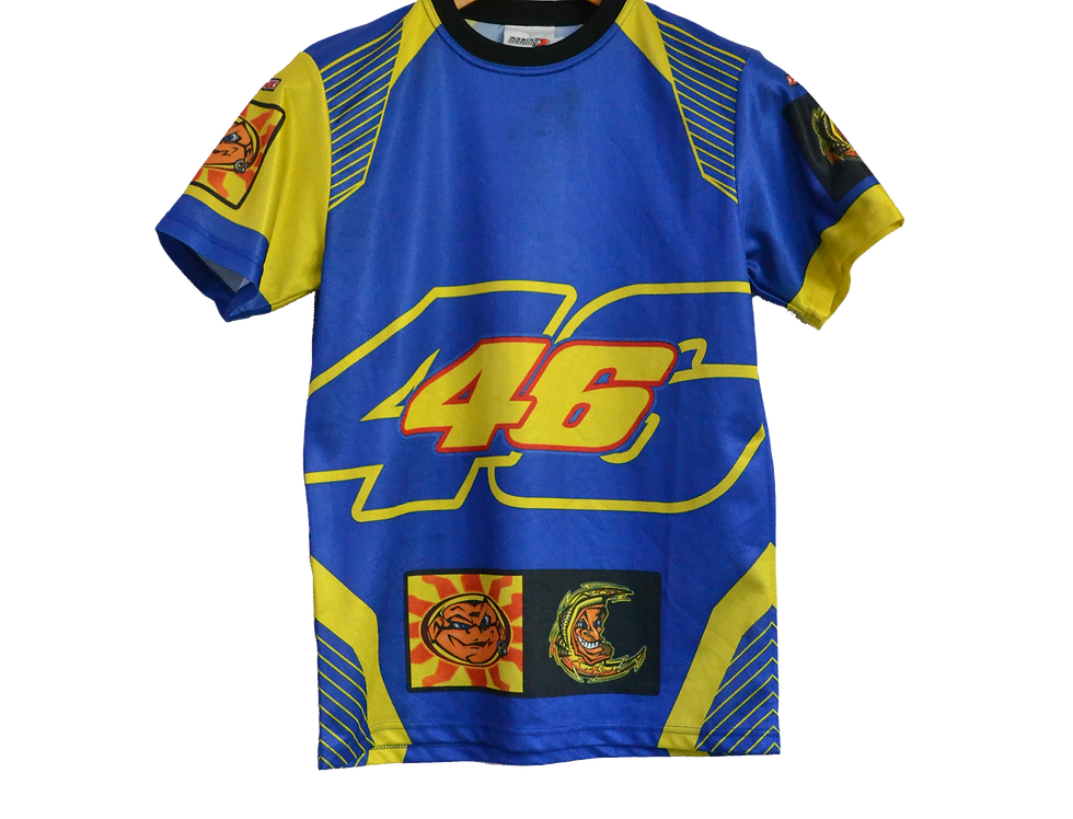 """Valentino Rossi """"The Doctor"""" Fluorescent Sport Tee S"""