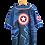Thumbnail: Marvel Comics TM & © 2002 Captain America Tee L