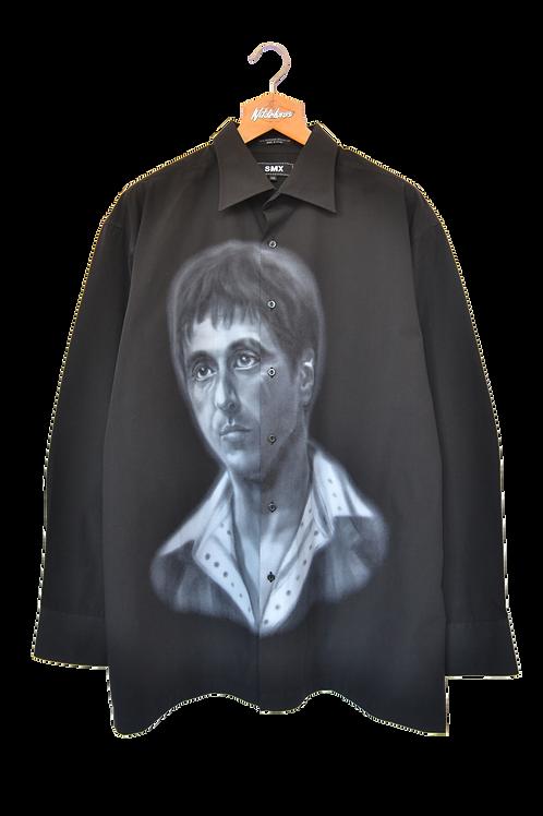 "The Godfather ""Al Pacino"" Graphic Shirt XXL"