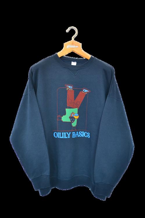 Oilily 90s Spellout Sweatshirt XL