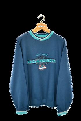 New York Islanders Ice Hockey Spellout/Logo Crewneck XXL