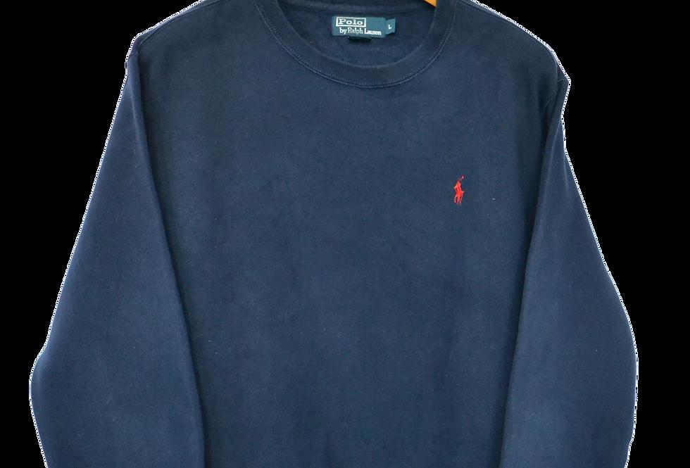 Ralph Lauren Navy Sweatshirt L