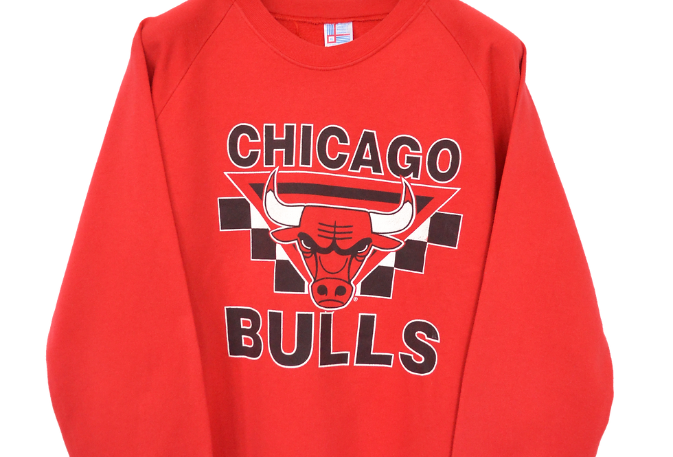 Chicago Bulls 90s Logo Sweatshirt XL