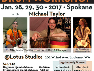 West African Drum Workshop