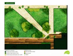 jardín exterior propuesta 2