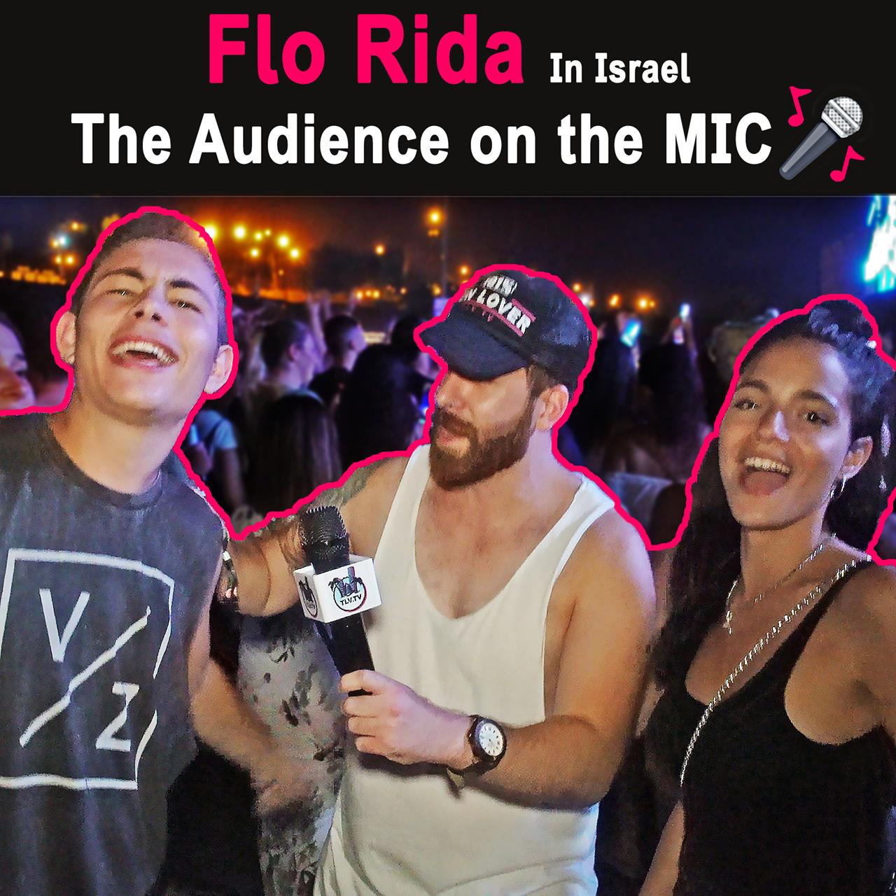 When You Give People the MIC @ Flo Rida Concert