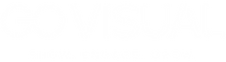 go visual text logo