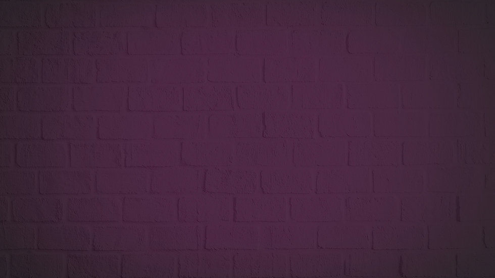 purple brick wall with vignette effect