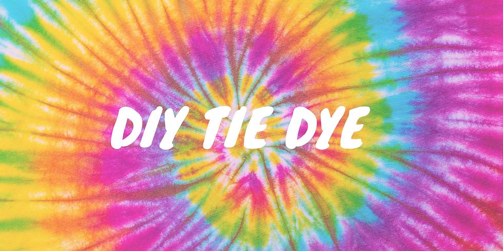 DIY Tie Dye: Option 1 (7:00 to 8:00pm)