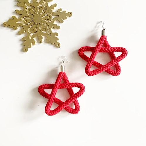Christmas Star Earrings