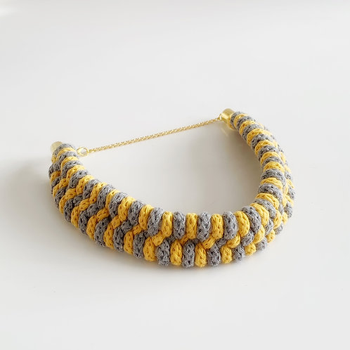 The Solina Cotton Choker Necklace