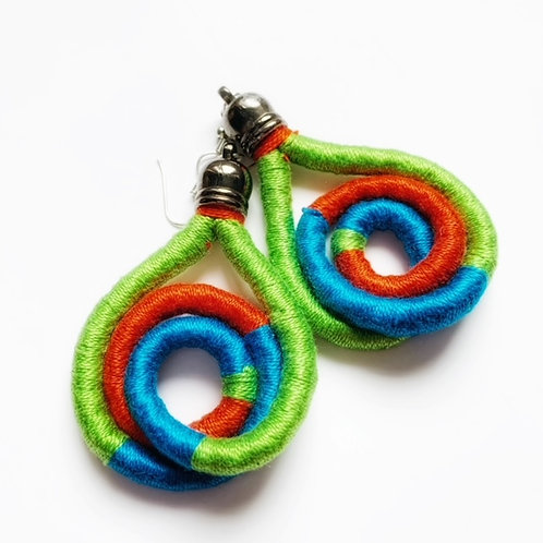 Bold Colourful Earrings