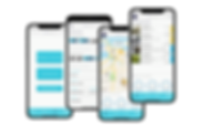 mockup-of-four-overlapping-iphone-11-pro