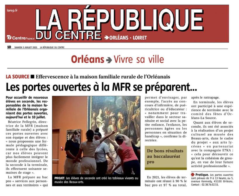 MFR de l'Orléanais