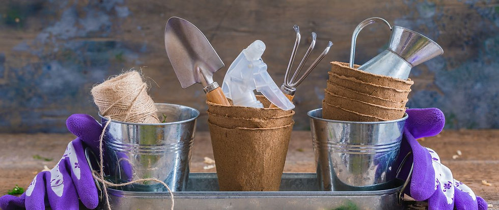 gardening-tools-pots-and-utensils-on-rus
