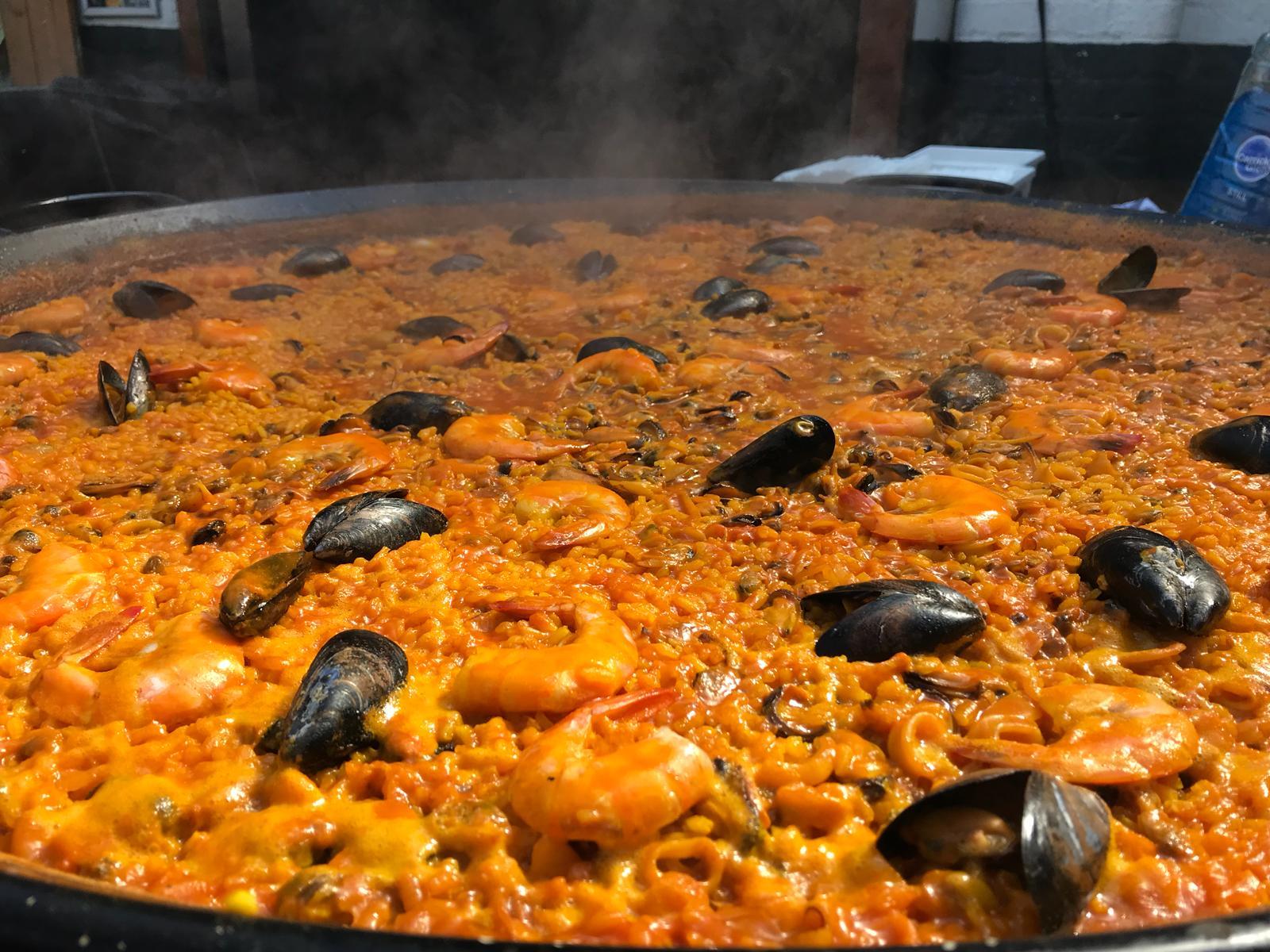 Seafood Paella - Yellow Rice Paella