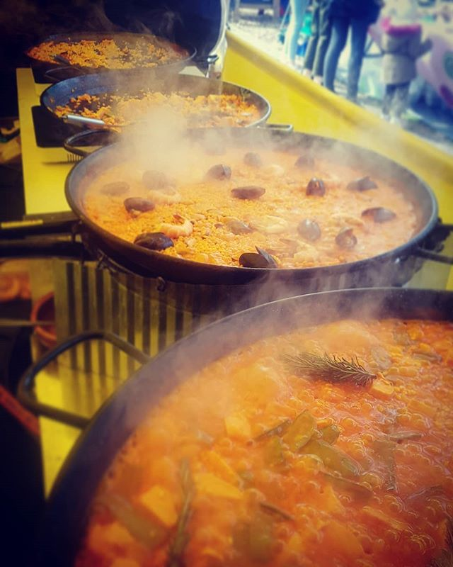 Yellow Rice paella & more