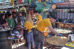 Paella Event in Dublin - Yellow Rice  The Paella Company