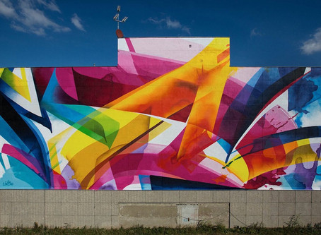 Graffiti - the rise of the female street artist by Kate Cox