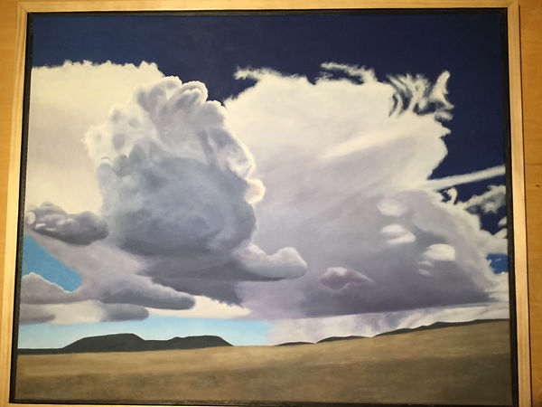 Storm on the Plains, an oil painting by Rich Alford.