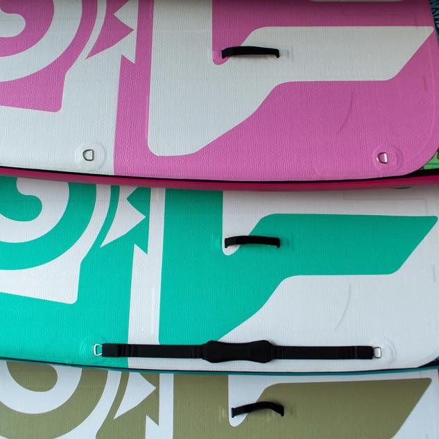 YogaInWaves Colorful Paddleboards