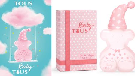 粉嫩嬰兒香又來一瓶!TOUS『粉紅寶貝古龍水』橙花麝香的粉嫩香+可愛粉紅睡衣小熊瓶,真的太萌了~