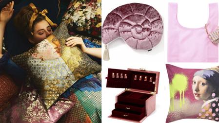 迎30歲、掀英國貴族復古風!Francfranc史上最唯美時尚『奢華家居佈置品』陸續上架中~收納袋也美出新高♡