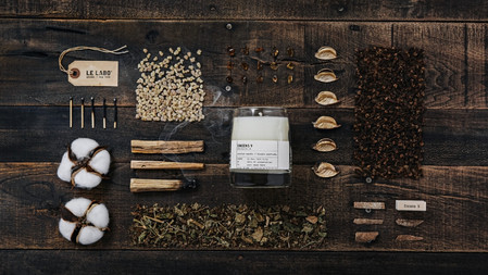 在家享受寧靜安定香!LE LABO 全新香氛創作「乳香9香氛蠟燭」散發著最有質感的溫柔乳香~