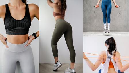 少女美背、仙女手臂→在家就能練出來!『無繩跳繩+8字繩』隨時隨地做起來+機能提臀褲,最美臀線秒完成!